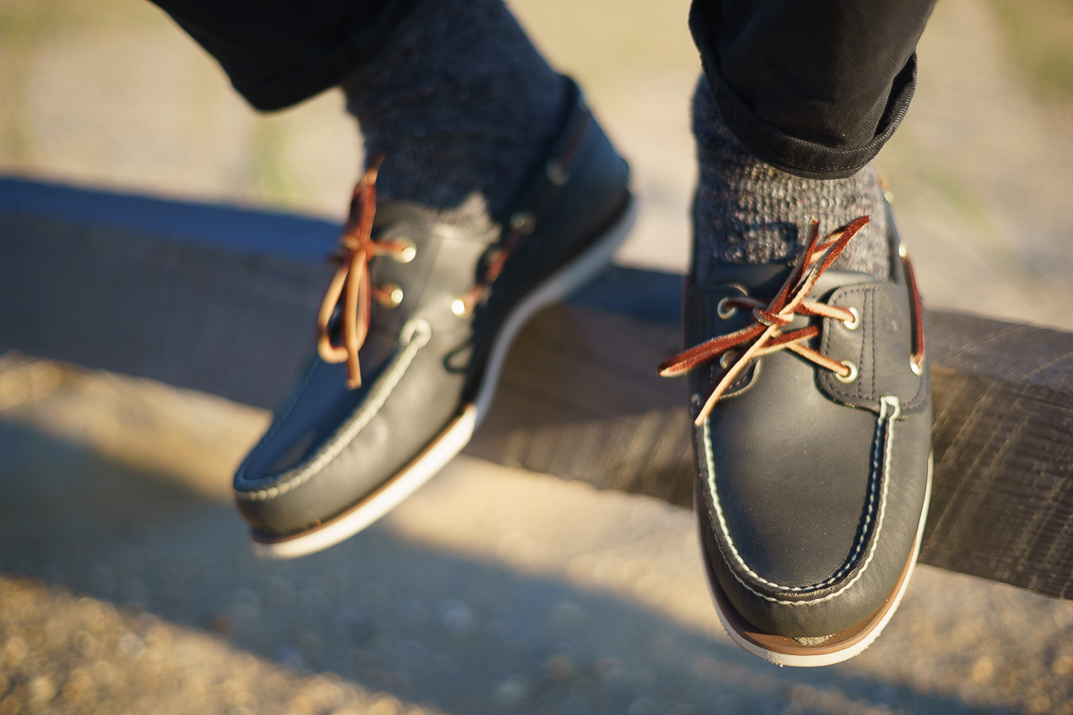 Image of Timberland boat shoes