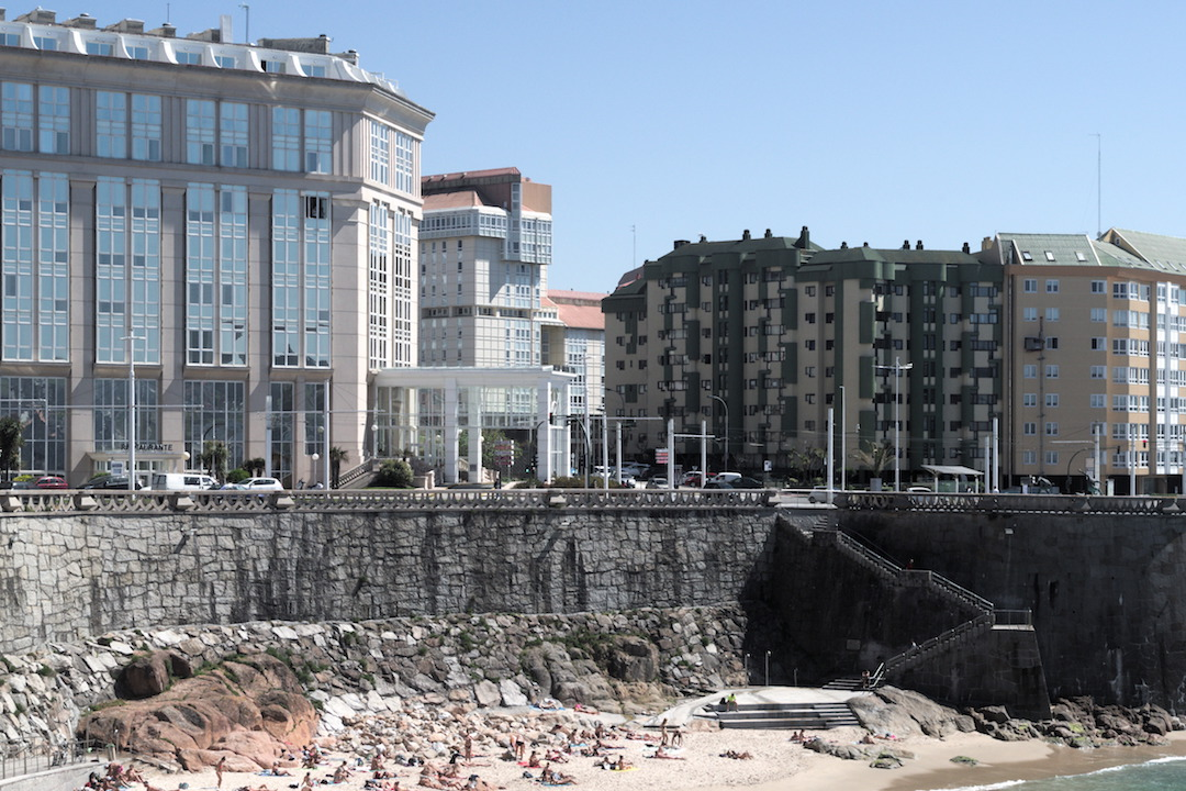 A picture of A Coruña