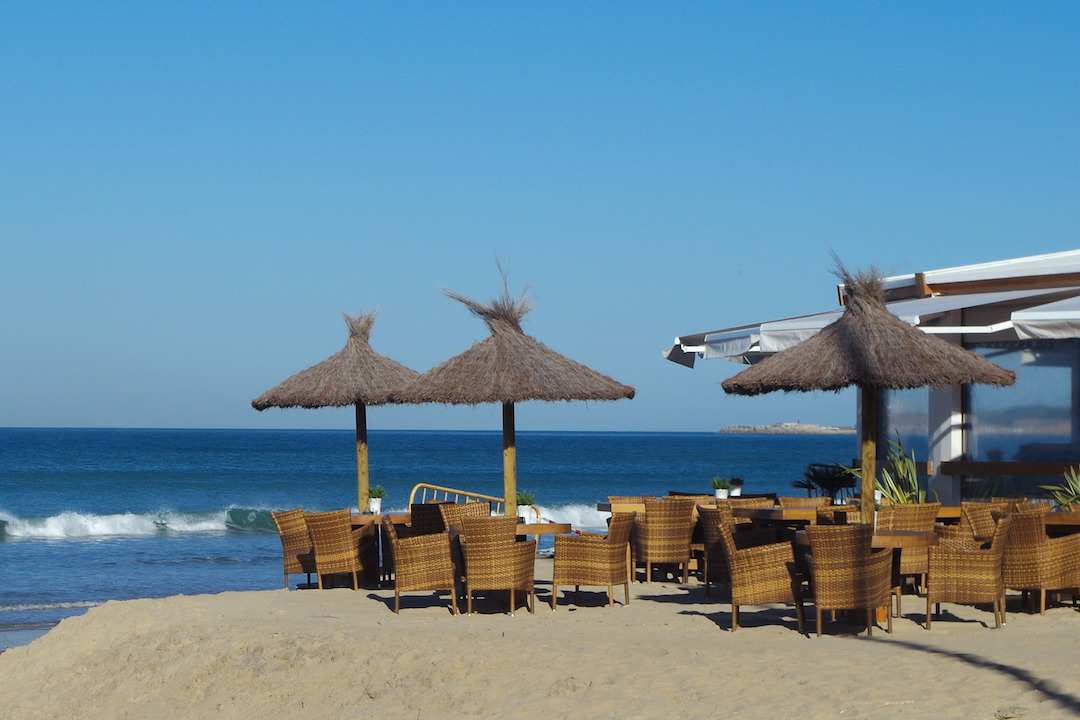 A picture of bar on la Fontanilla beach in Conil de la Frontera