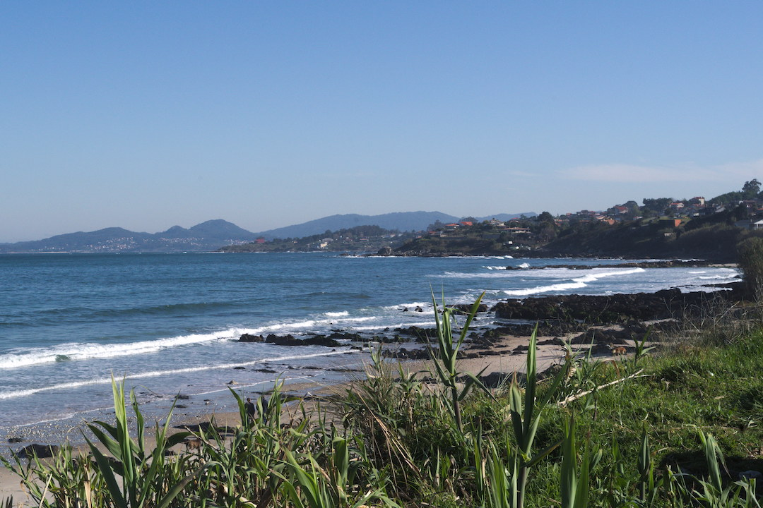 Picture of beach in Patos, Galicia