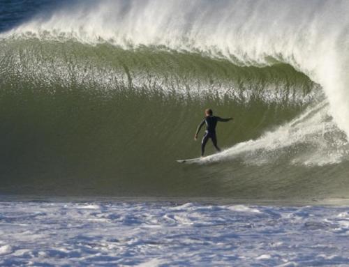Surfing w Europie: zima