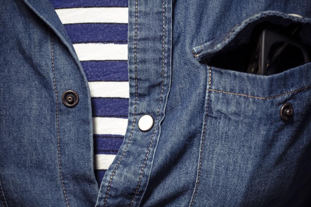 dżinsowa koszula