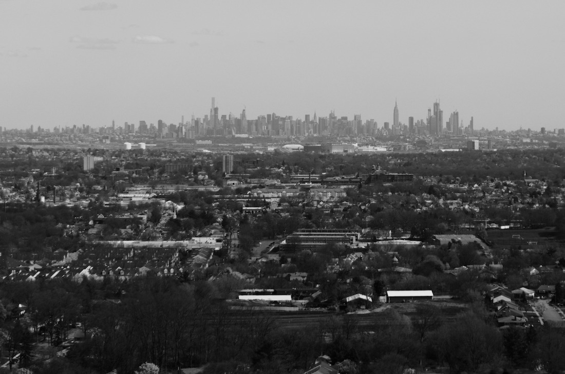Manhattan from the distance