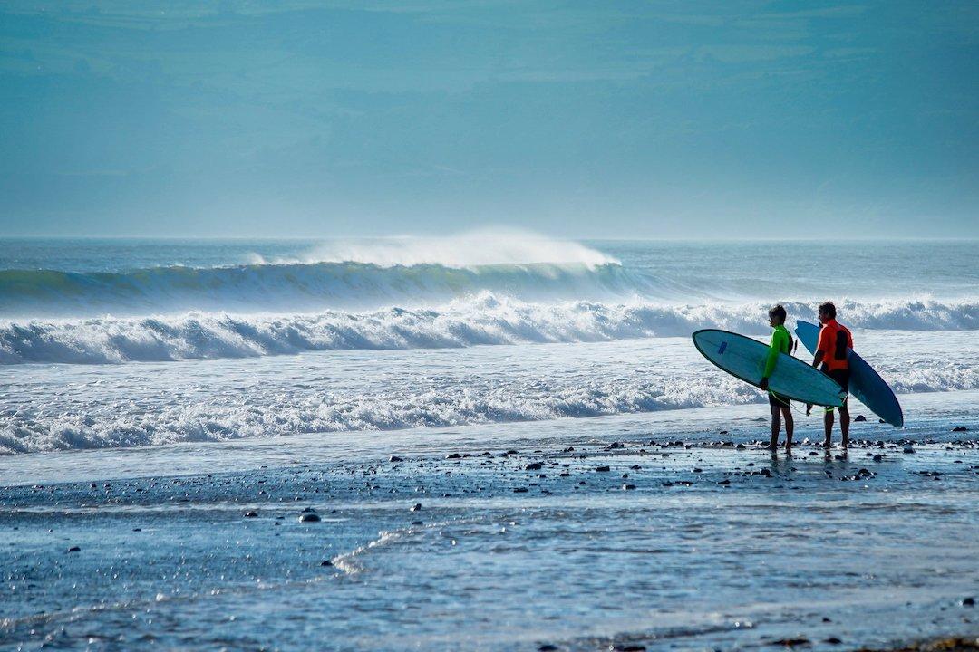 Hells Mouth Gwynedd surfing