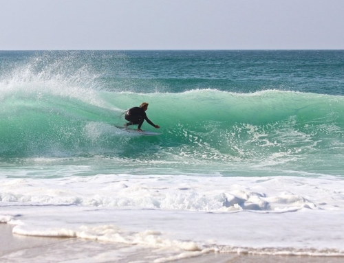 Summer surfing in Europe