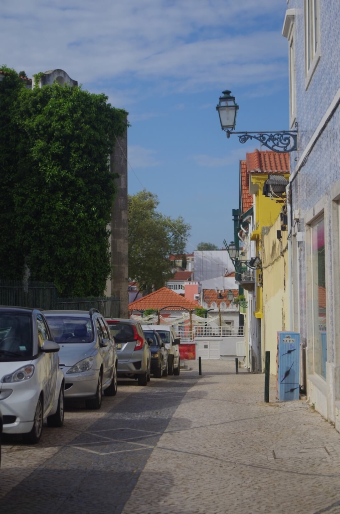 a street in Cascais, Portugal